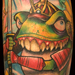Tattoos - samurai frog - 28486